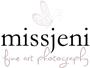 Bröllopsfotograf, Porträttfotograf, Fotograf MissJeni, Sundsvall, Västerås, Västmanland, Sverige logo